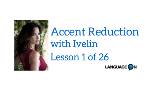 Accent Reduction Class in Miami for actors