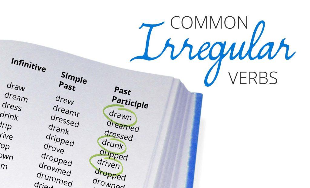 Complete English Irregular Verb List -- Free PDF Download