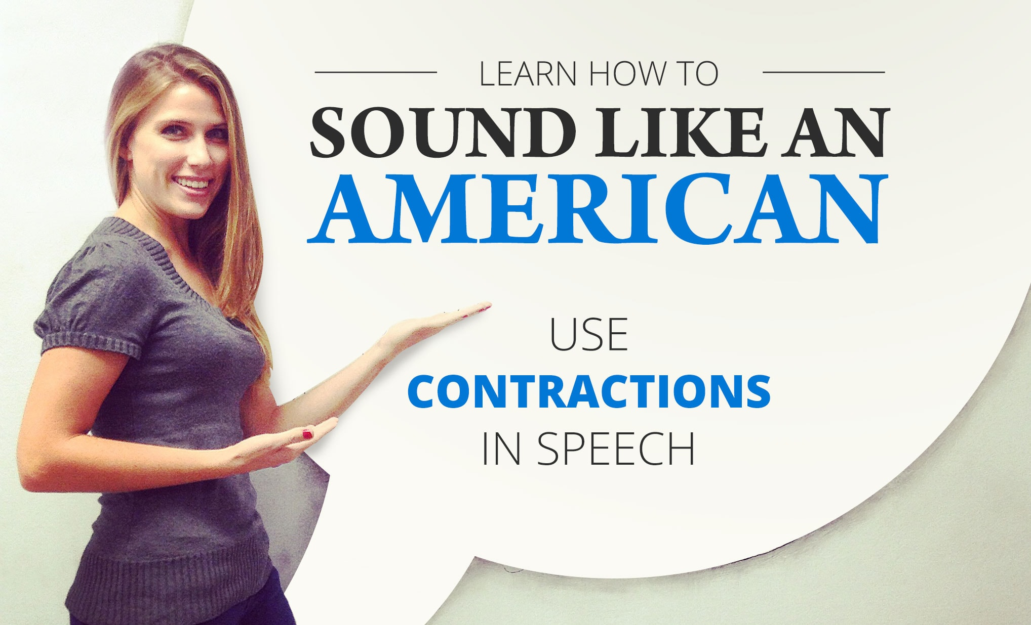 Contractions in Speech