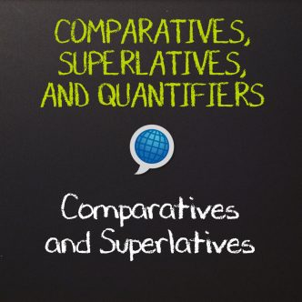 English Comparatives and Superlatives