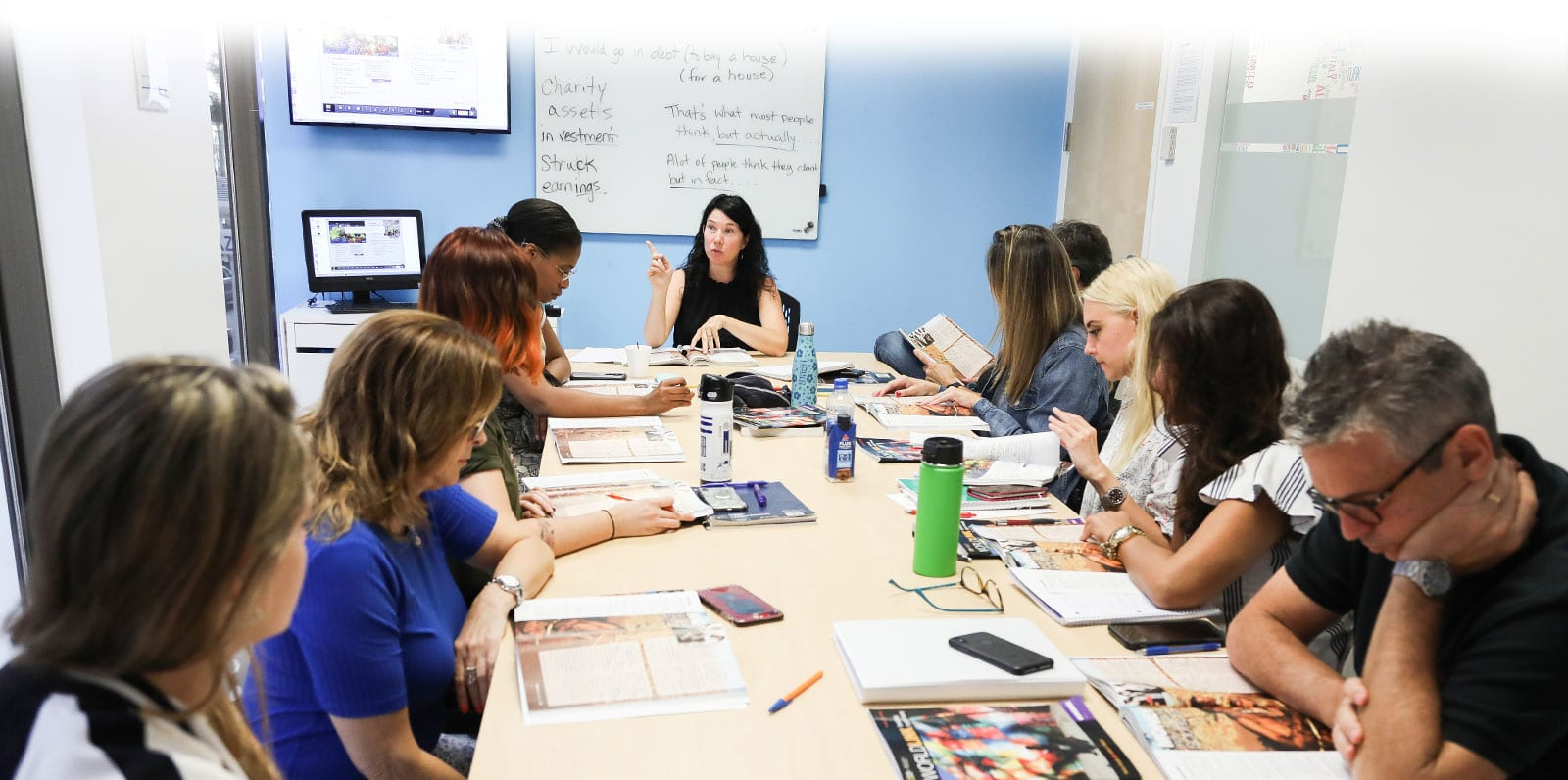 Business English Course - Students