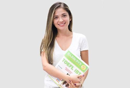 Estudiante de clases de preparación de pruebas y examenes