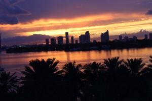 Watch a sunset!
